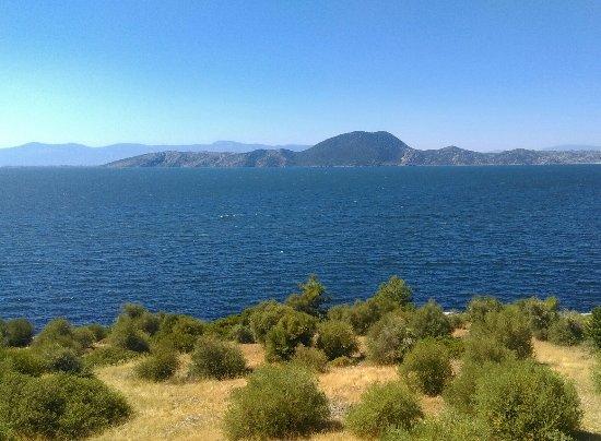Lake Bafa, Turquia: Muhteşem bir manzara