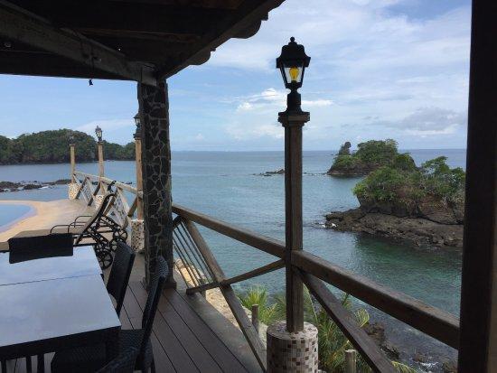 San Jose Island, Panamá: Vista desde la zona de la piscina