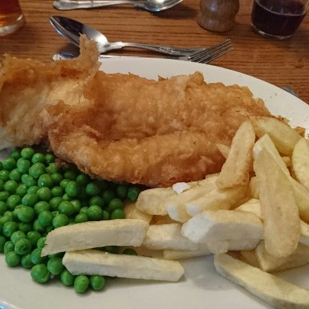 Brigg, UK: Beautiful fish and chips