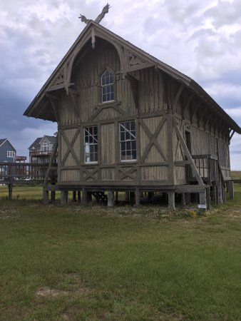 Rodanthe, NC: Chicamacomico Life-Saving Station Historic Site & Museum