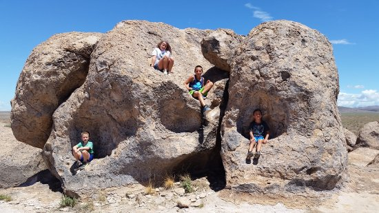 City of Rocks State Park: Our rendition of Fraggle Rock at CIry of Rocks State Park