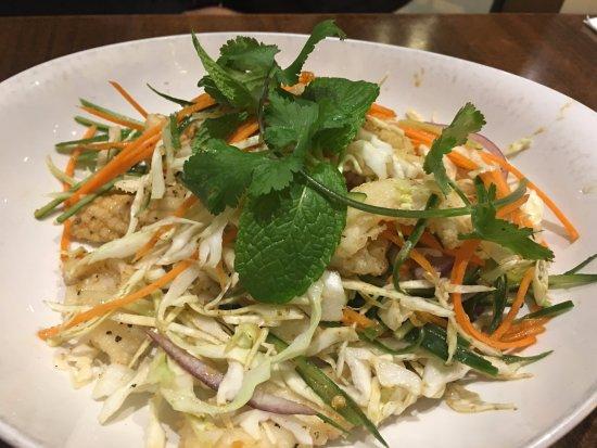 Doncaster, Avustralya: calamari salad