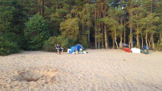 Aviemore, UK: wild camping