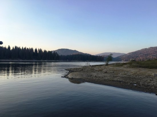 Shaver Lake, CA: near the launch ramp