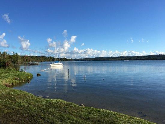 Lake Leelanau R.V. Park: View from shore