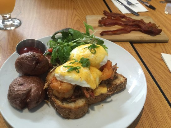 Scratch Kitchen And Bake Shop surf n' turf eggs benny - picture of scratch kitchen & bake shop