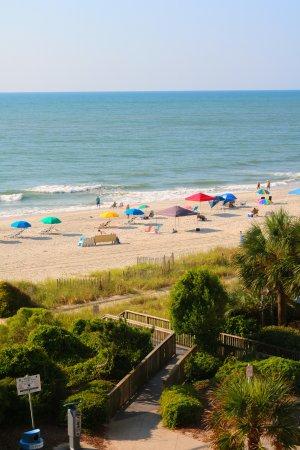 Anderson Ocean Club & Spa, Oceana Resorts: View from ocean viiew room, south side of building