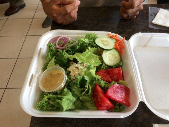 Corkscrew Deli: Chicken salad