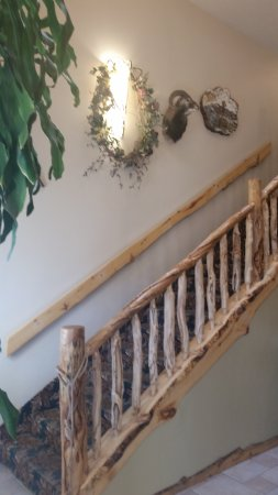 Browns Canyon Inn : Stairway to the second floor