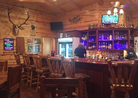 Alpine, AZ: The saloon at Tal Wi Wi Lodge