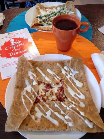 Saint-Eustache, Canada: Delicious Crepes!