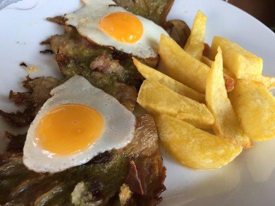 Castilleja de la Cuesta, Spagna: Presa con foie