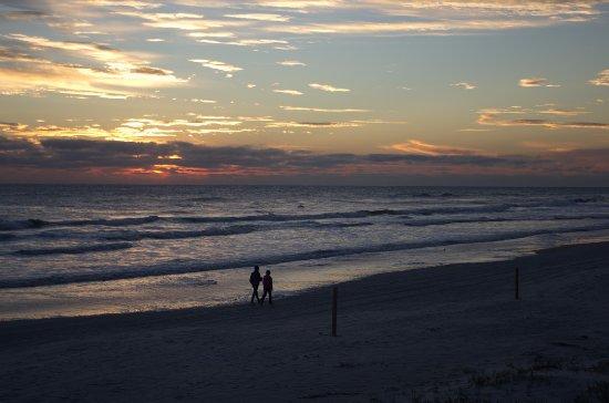 e45b9388ba858 Beach at Daytona Beach  A common site is seeing a couple walk along the  beach