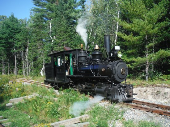 Alna, ME: Engine number 9 - built in Maine and it operated on the original WW&F