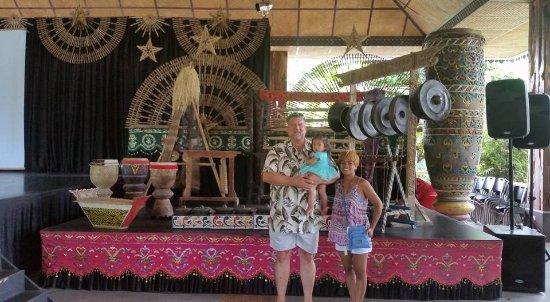 Villa Escudero Resort: historic music instrument collection on the grounds