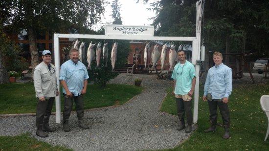 Sterling, Αλάσκα: Salmon Fishing