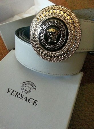 Concord, Canada: Versace belt one of my favourites.