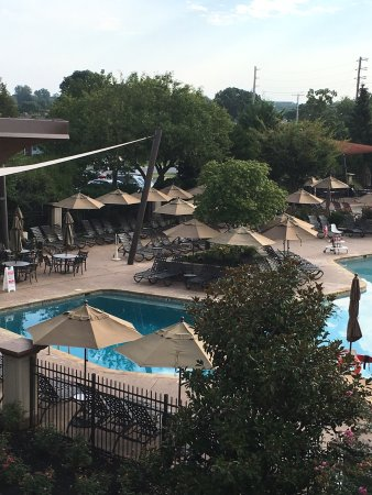 BEST WESTERN PREMIER Eden Resort & Suites: View from our room.. King suite.. Wish we stayed longer than one night