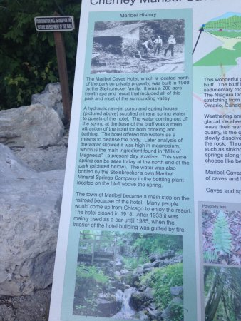Cherney Maribel Caves: Maribel Caves History
