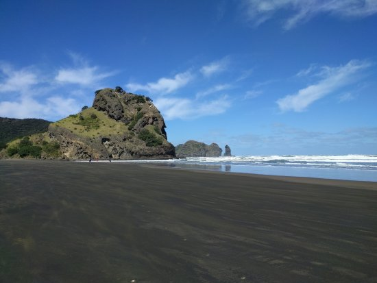 NZWINEPRO - Auckland Wine Tours: Lion's rock and black sand beach