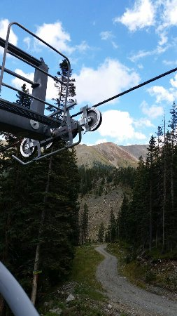‪‪Taos Ski Valley‬, نيو مكسيكو: Summer Lift ride Taos Lift #4‬