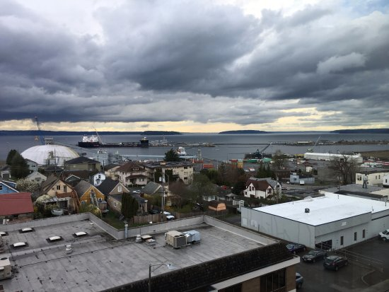 Everett, WA: View from my window