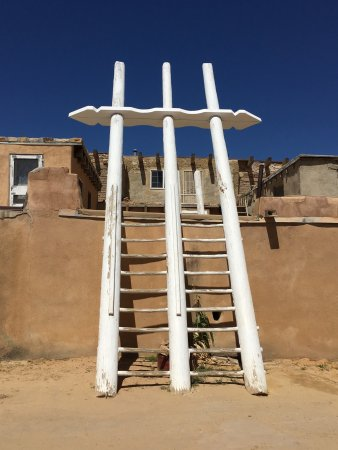 Pueblo of Acoma, Νέο Μεξικό: More than a ladder