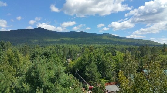 Jefferson, Nueva Hampshire: Views from the top of the park