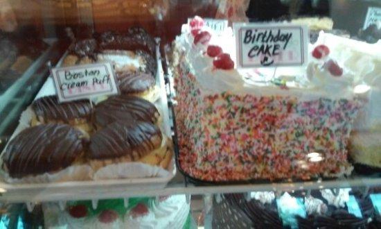 Fantastic Cakes In The Display Picture Of Marietta Diner Tripadvisor Personalised Birthday Cards Arneslily Jamesorg