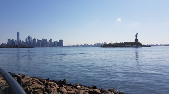 Liberty State Park: Admire Lady Liberty while enjoying a walk, run or bike ride