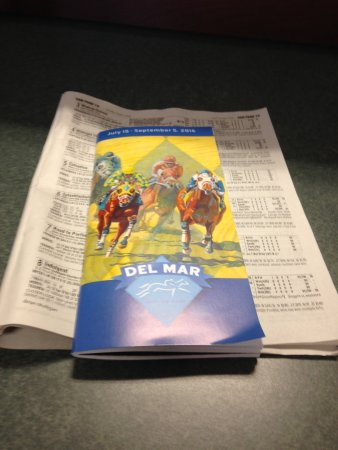 Del Mar, Californië: The Racing Program!