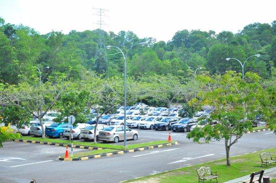 Sandakan Rainforest Park: Car Park of the SRP