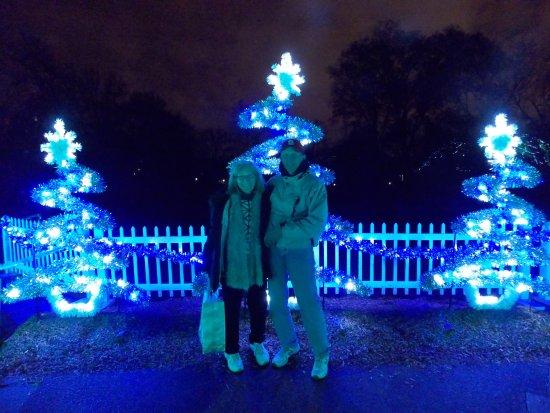 Missouri Botanical Garden: Garden Glow    Christmas