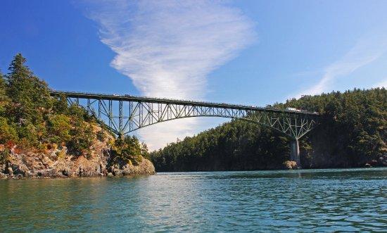 Oak Harbor, WA: Decption Pass and famous Decption Pass Bridge!