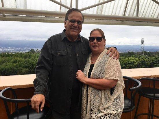 San Rafael, Costa Rica : La hermosa vista desde Baalbek