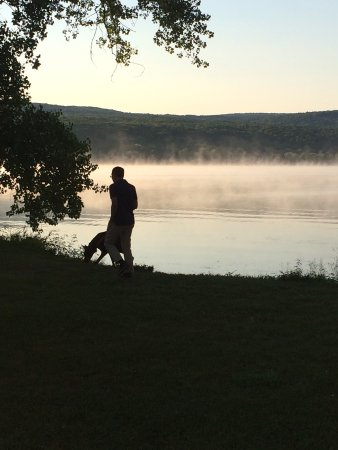 Honeoye Lake in the early morning