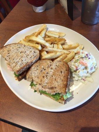 Prince George, Kanada: Toasted Shrimp Sandwich