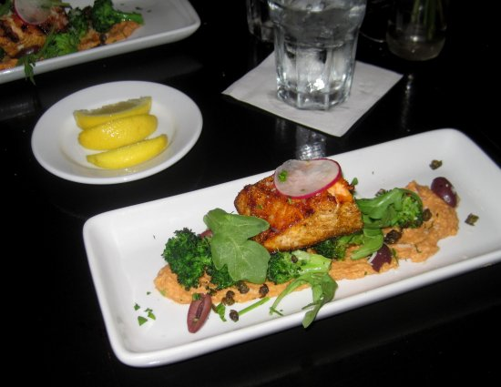 Bantam Grill: Grilled Moroccan Crusted Salmon