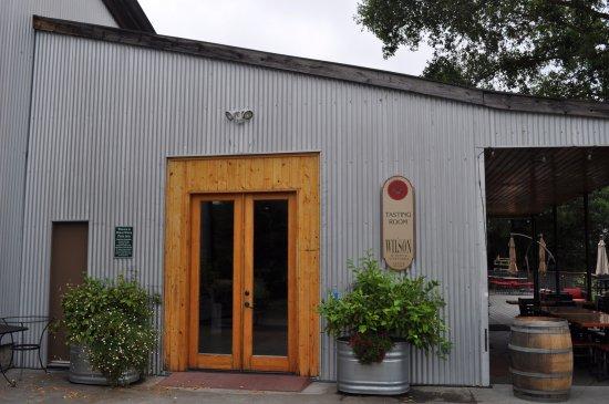 Healdsburg, Kaliforniya: Main Entrance