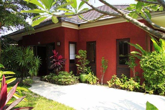 The Residence Hua Hin: Pool Villa front garden