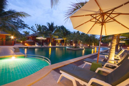 The Residence Hua Hin: Main swimming pool area
