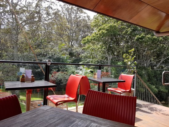 Mount Tamborine, Australia: view from the deck overlooking the park