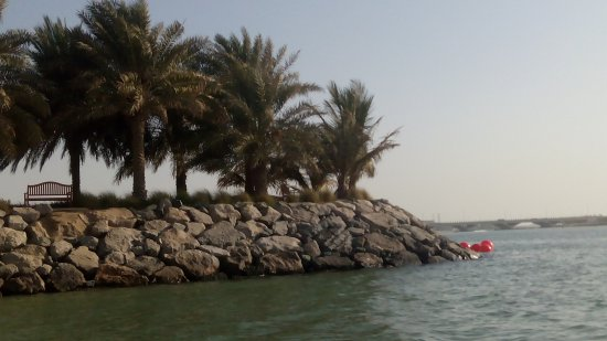 Traders Hotel, Qaryat Al Beri, Abu Dhabi: Beside the beach
