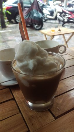 Old Quarter: coconut coffee .   lovely