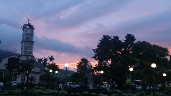 Pacific Trade Winds: Downtown La Fortuna at Sunset