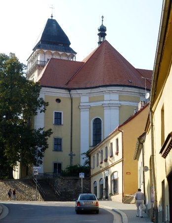 Church of St. Lawrence (Sv. Vavrince) : Church of St. Lawrence on top of the hill