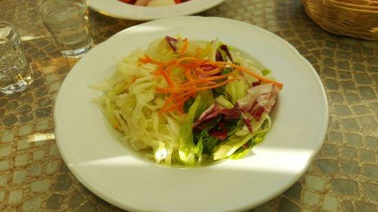 Oberasbach, ألمانيا: Salat zur Leber