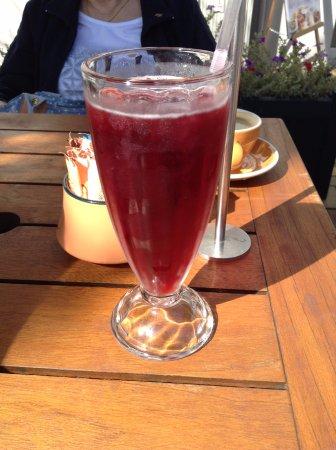 Timaru, Nya Zeeland: Blackcurrant juic
