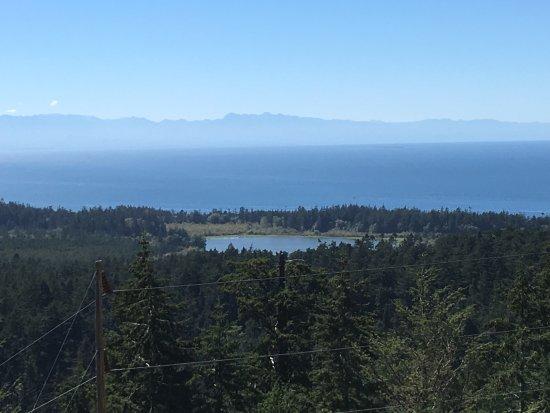 Oak Harbor, Ουάσιγκτον: view from the summit trail