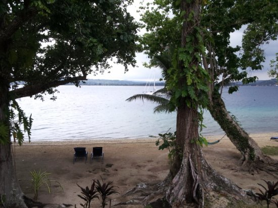 Aore Island Resort: view from bungalow